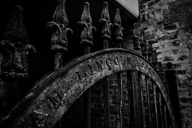 Gate, Milwaukee Ave. Chicago