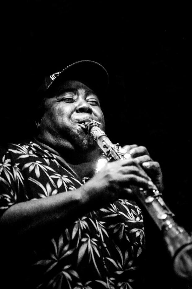 Chicago Jazz: Kaliq Woods Underground Wonder Bar 9-9-2014