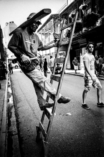 French Quarter Street Photography