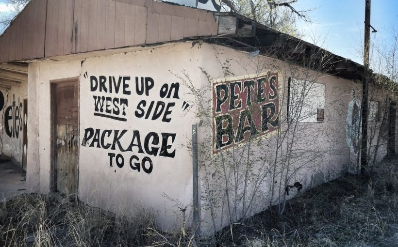 Old Biker Bar, Route 66 Moriarty, New Mexico