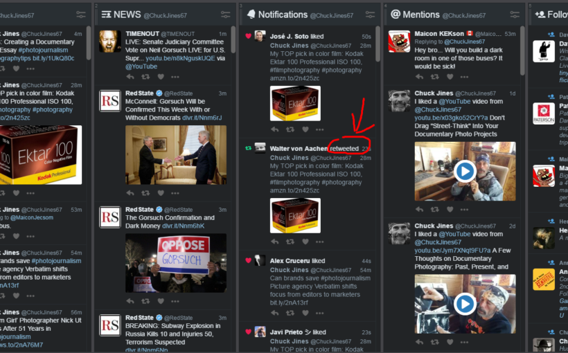 Using Twitter, Amazon, and Tweetdeck Creating a Local Photojournalism Website: Promoting and Monetizing Your Website